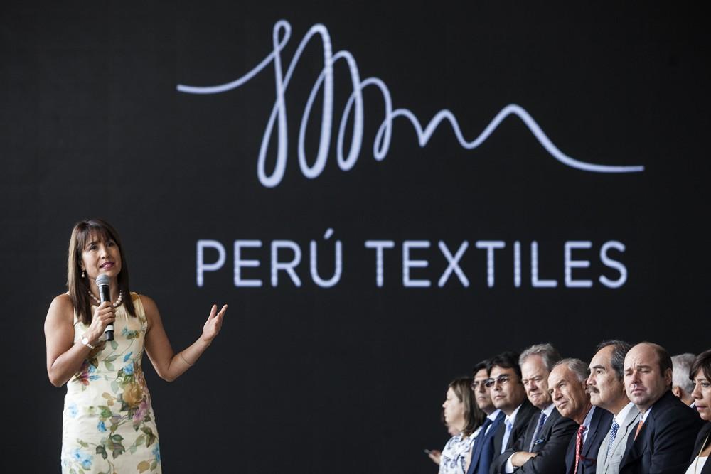 Magali Silva Velarde-Alvarez launches Peru Textiles