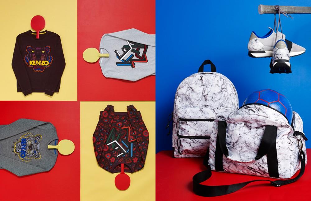 Jumpers / Kenzo Opposite Bags / Marble Balsa Backpack Marbla Balsa Easy Tote Sneakers / Balenciaga