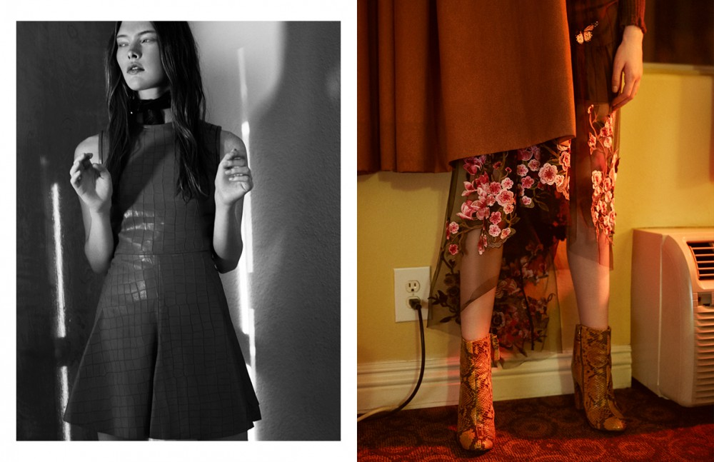 Dress / Manokhi Scarf / Aeneas Erlking Ring / Stylist Own Opposite Dress / FETE Boots / Dries Van Noten