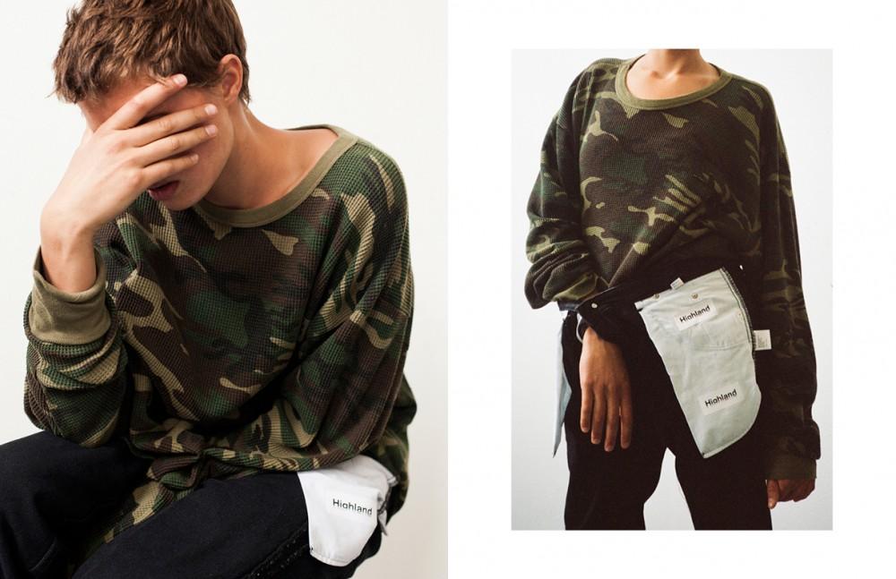 Jumper / Vintage Army Surplus Denim Trousers / Highland