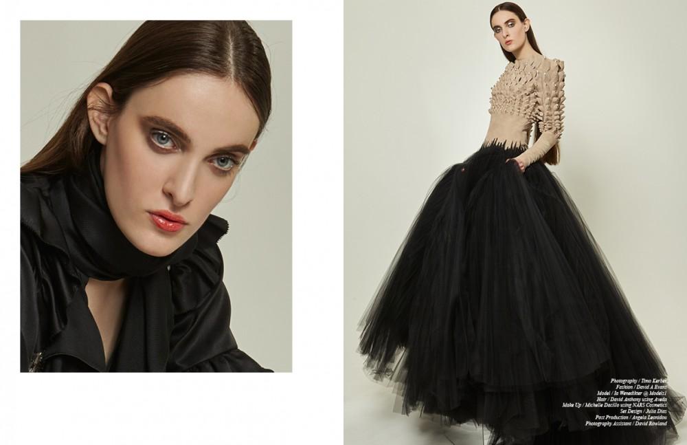 Shirt / Temperley London Opposite Dress / Stéphane Rolland