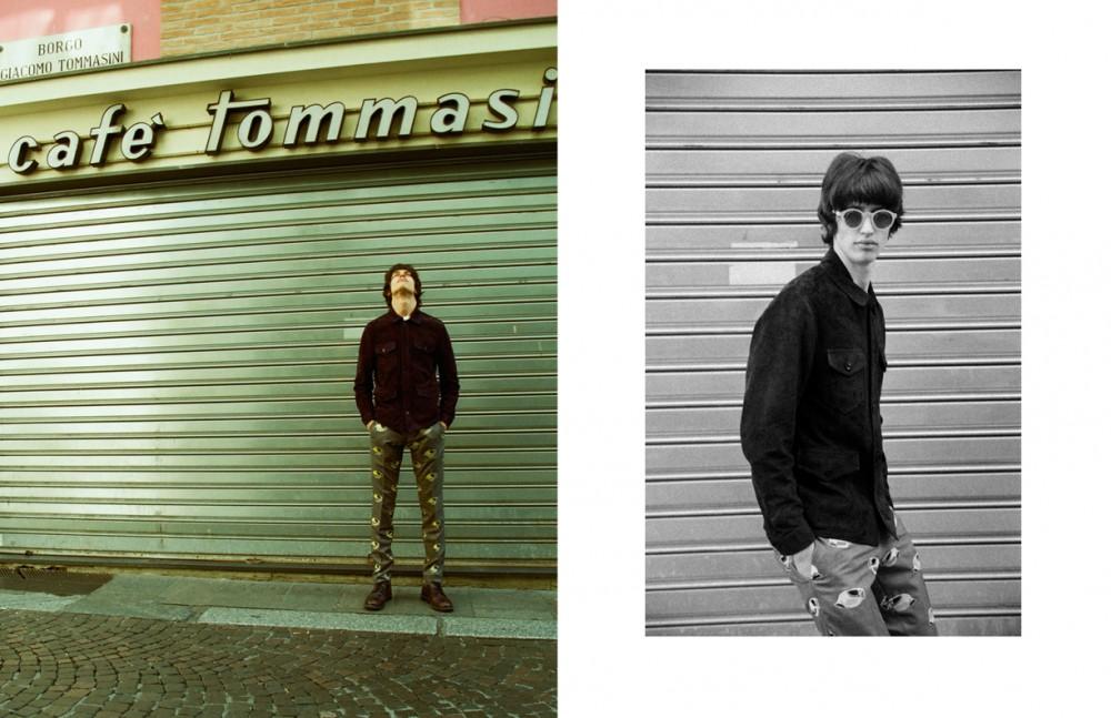 Coat / Tom Ford T-Shirt / Acne Studios Trousers / Thom Browne Shoes / Church's Glasses / Mykita
