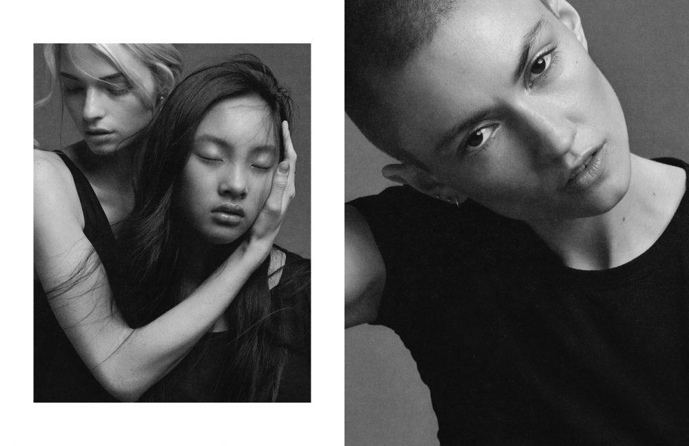 Linnea A @ Elite Management Josefin @ Mikas Agency Opposite Emily P @ Elite Management
