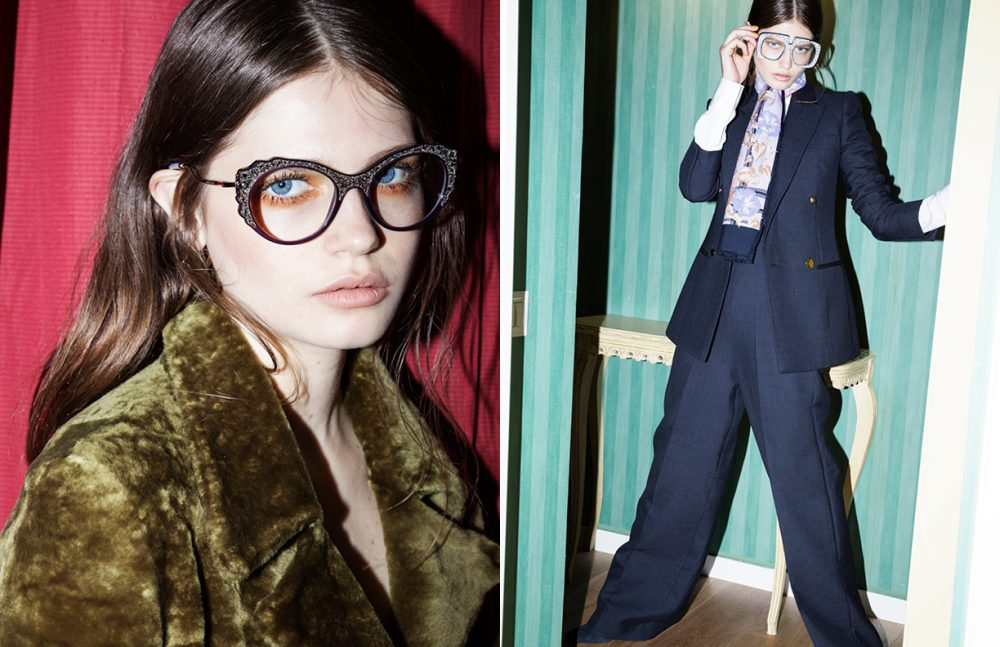 Coat / Drome Glasses / Miu Miu Opposite Total Look / Ports 1961 Glasses / Alberto Zambelli Scarf / Stylist's Own