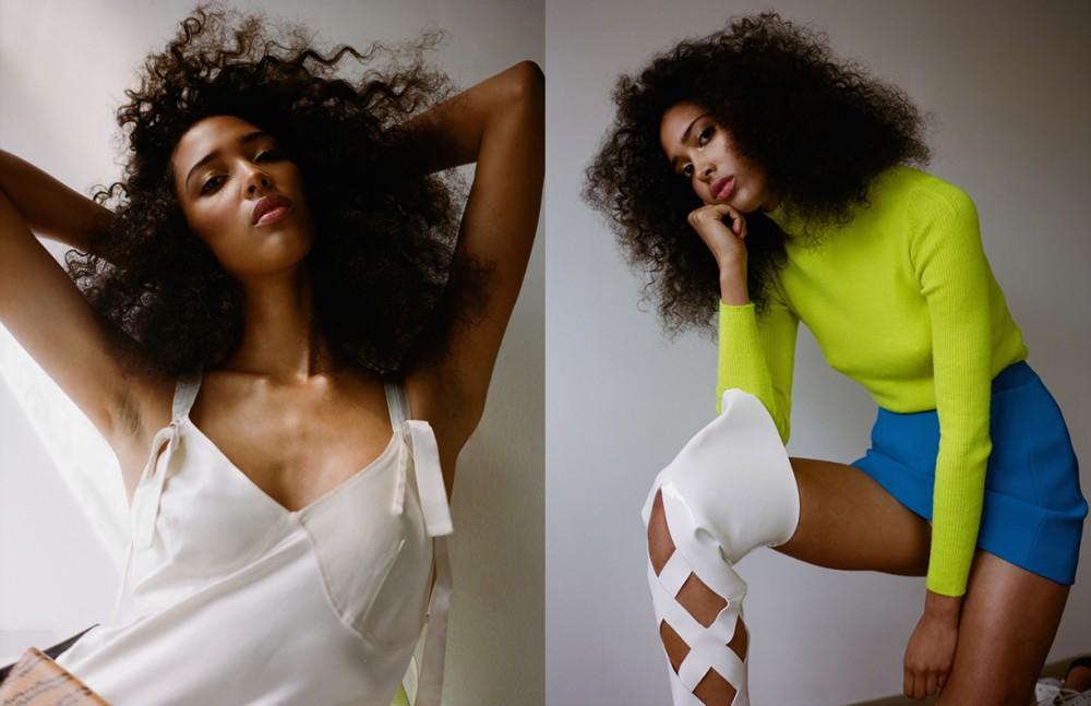Dress / Calvin Klein Belt / KENZO Opposite Jumper / Alexander McQueen Skirt & Boots / KENZO