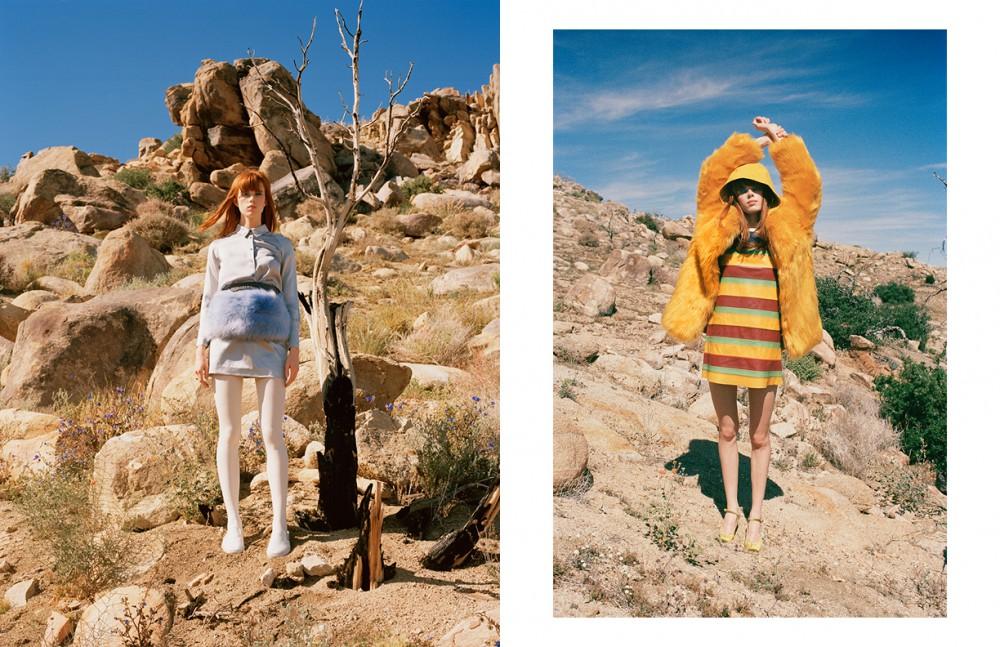 Blouse & Skirt / The Fashion Club Skirt (Worn Under) / Eleven Paris Stole (Worn On Hips) / THP Shoes / Vans Opposite Coat / THP Hoodie / Vans Dress / Tommy Hilfiger Shoes / Rafa
