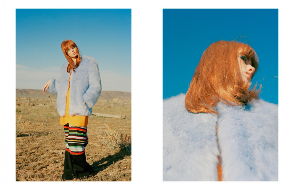 Coat / THP Jacket / C/MEO COLLECTIVE Dress / Vans Trousers / Beaufille