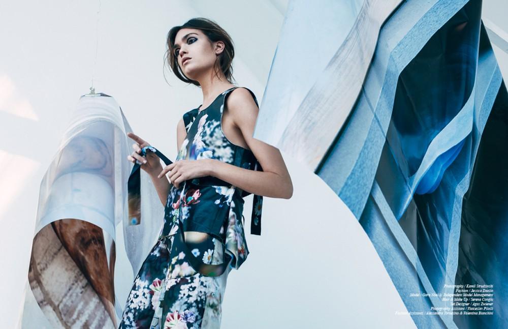 Printed Top & Trousers / Calvin Klein