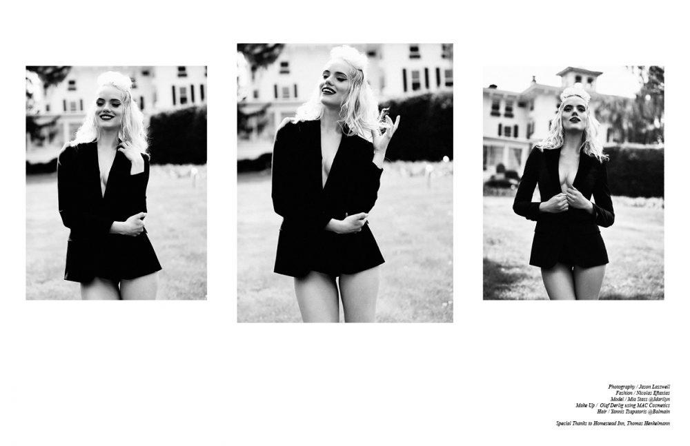 Blazer / Dolce&Gabbana Shorts / La Perla
