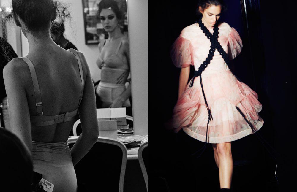 Lingerie / Stylist's Own Opposite Dress / Simone Rocha at Boutique 1
