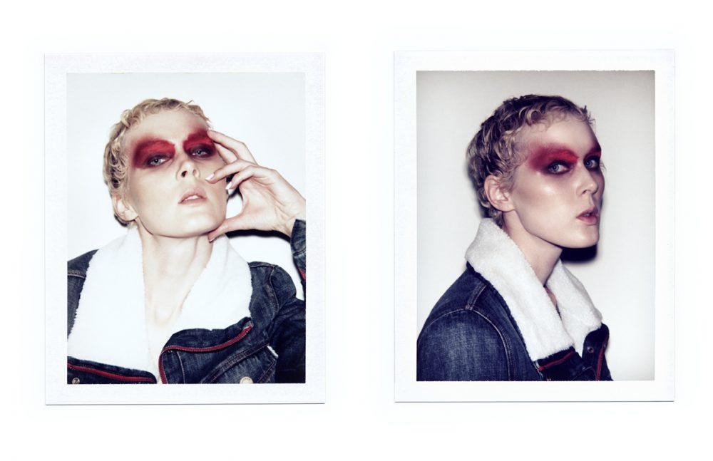 Annie Montgomery wears Jacket / Etienne Marcel