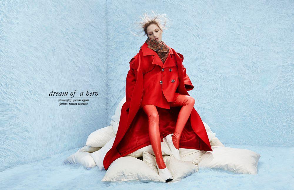 Coat & Jacket / Louise Assomo Jacket Scarf / Vivienne Westwood Shirt / victoria/tomas Colar / Zana Bayne Latex / Tres Bonjour at misencage.com Shoes / Pretty Ballerinas