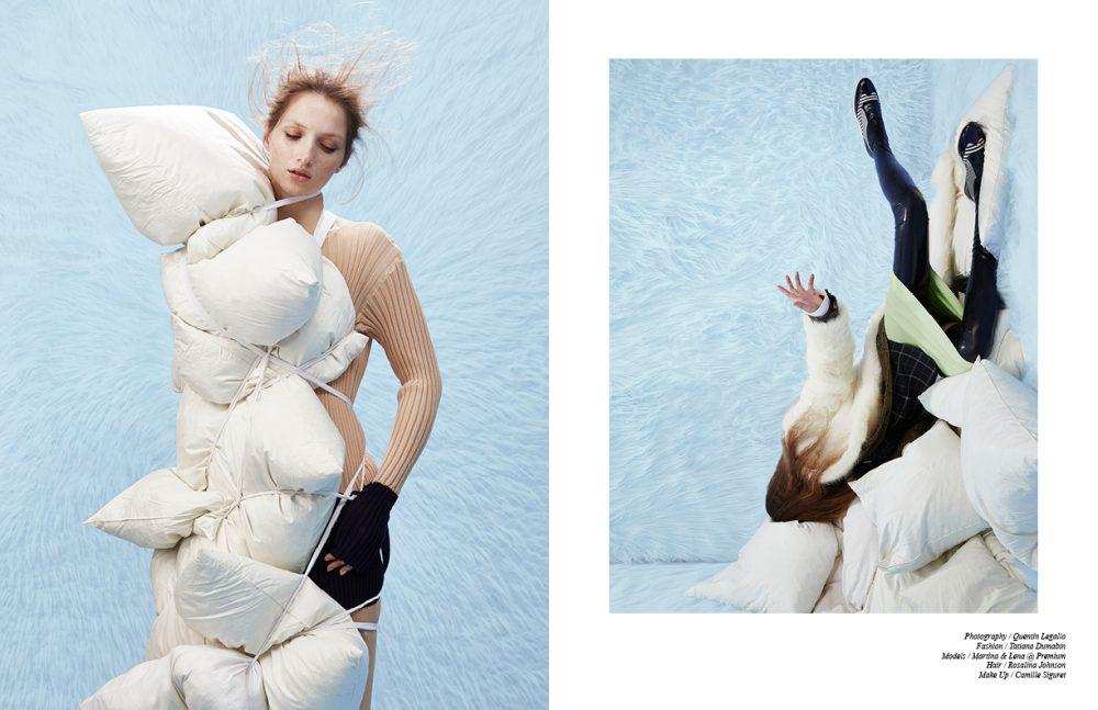 Dress / Cédric Charlier Opposite Fur / Missguided Coat, Jacket & Shirt / Vivienne Westwood Dress / KNITS Shoes / Pretty Ballerinas Latex / Tres Bonjour at www.misencage.com
