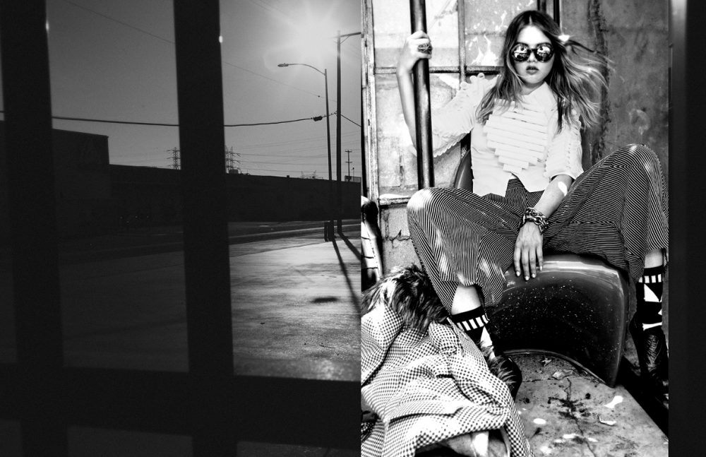 Sunglasses / Wildfox Couture Blouse / Shpetim Zero Couture Trousers / Henrik Vibskov Blazers / Smythe Ring / Lillian Shalom Socks / Henrik Vibskov Shoes / Vivienne Westwood