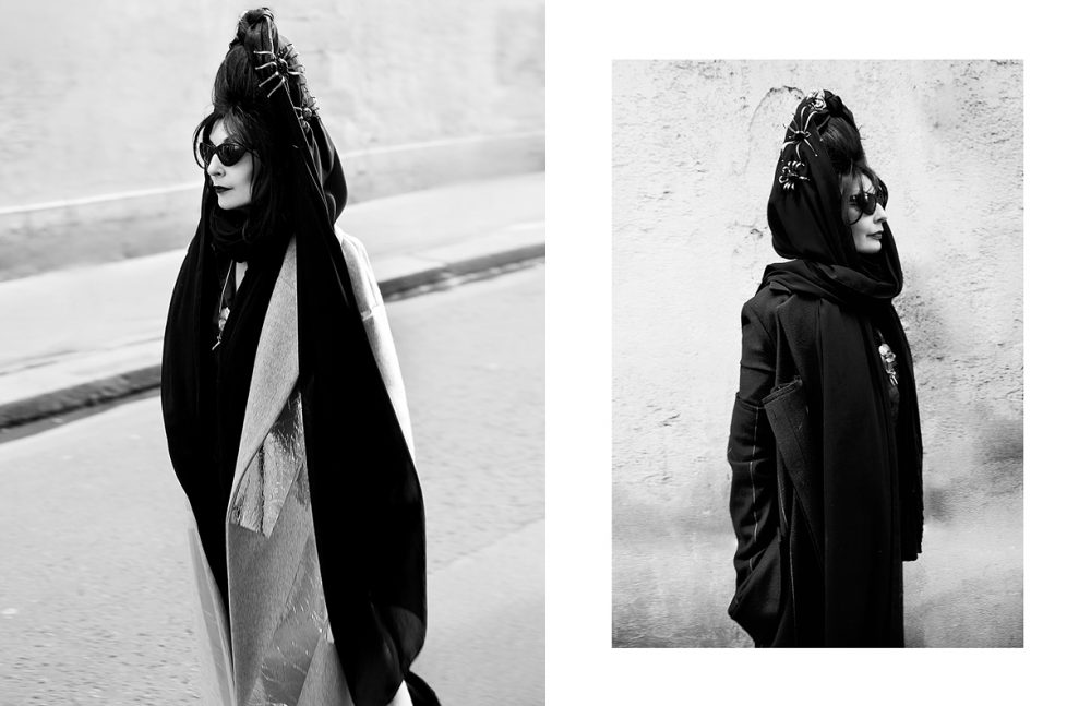 Total look / Tiko Paksa Opposite Total look / Alexander Akhalkatsishvili