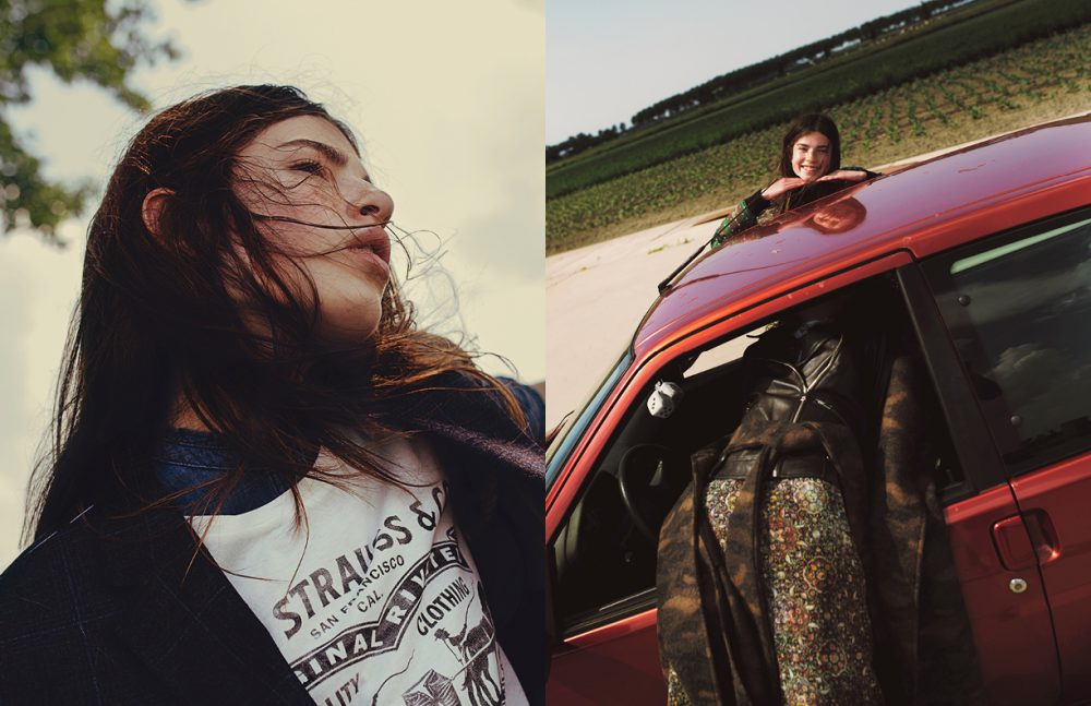 Blazer / Hacket Blouse / MKT T-shirt / Levi's Opposite Dress / Summum Jacket / River Island Shirt / Emporio Armani Coat / Weekday