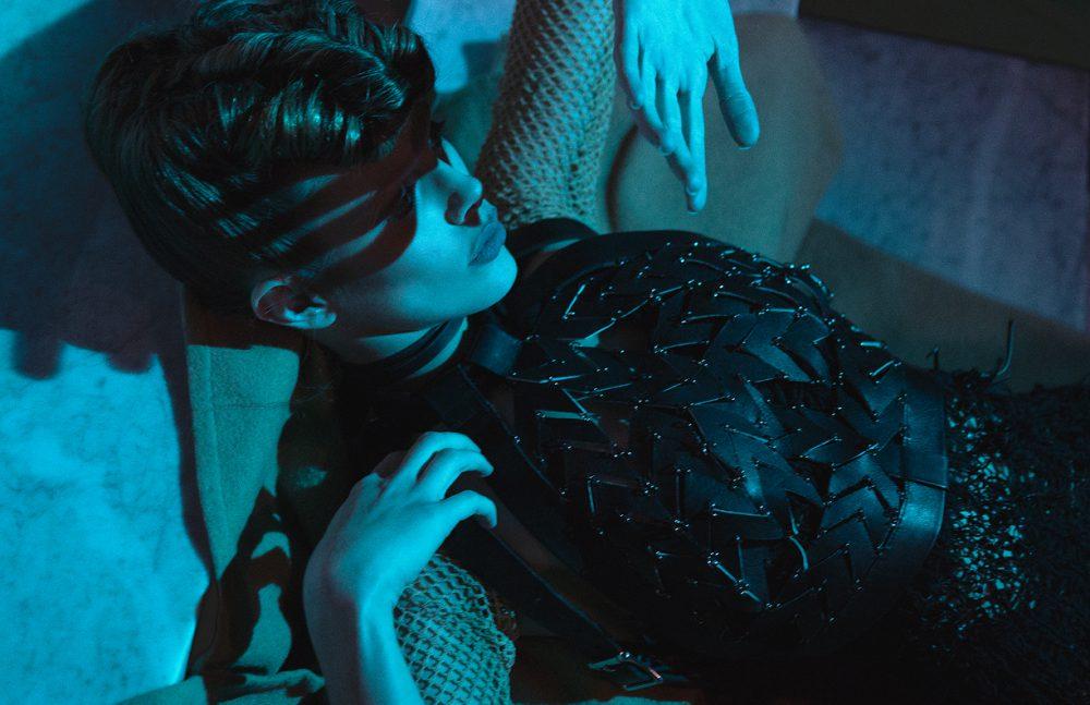 Gown / Natalia Fedner Halter / Bowenero Sleeves / Constantin Line
