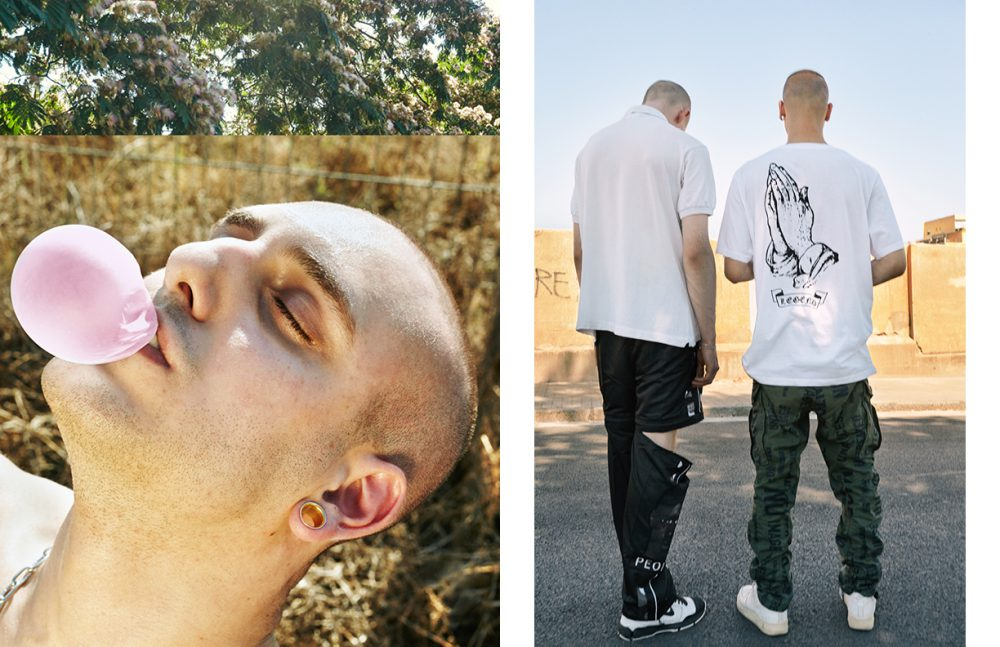 Sebastian (Left) @ AMCK Models London wears Polo Shirt / Lacoste Trousers / W.I.A. Collections Trainers / Nike Edrien (Right) @ Model Talking wears T-Shirt / Urban Outfitters Trousers / G-Star RAW Trainers / Nike