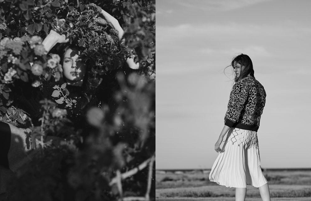 Jersey / Antik Batik Skirt / Topshop Opposite Bomber / Sandro Top / Anne Sofie Madsen Skirt / H&M