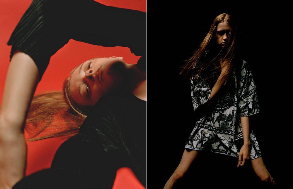 Coat / Issey Miyake Opposite T-shirt / KTZ