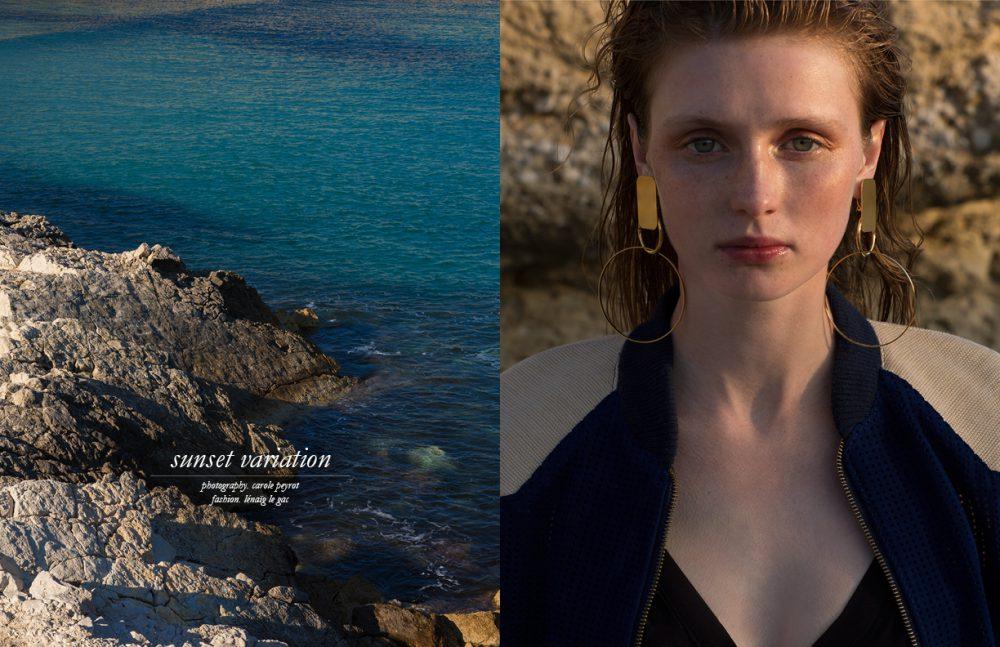 Jacket / Pantheone Swimwear / Thapelo Earrings / Viveka Bergström