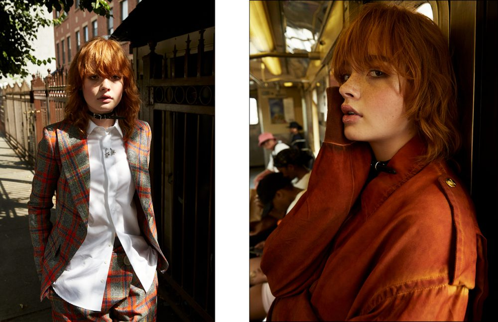 Jacket & trousers / Vivienne Westwood Anglomania Shirt / DSquared2 Opposite Jacket / Vivienne Westwood
