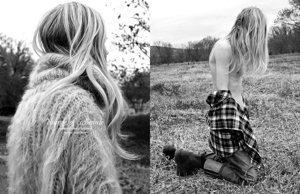 Sweater / Malan Breton Opposite Shirt / Ace Rivington Jeans / Hydrogen Boots / Dr. Martens