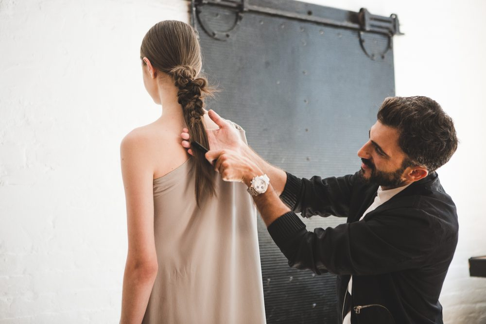Backstage at Jasmine Chong Photography  / Phoebe Cheong