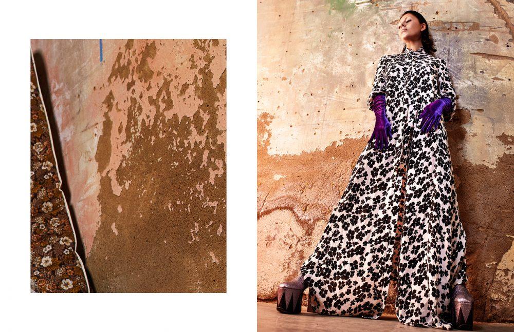 Dress / McQ Alexander McQueen Heel boots / Micol Ragni