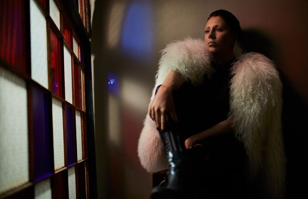 Fur Coat / PAUL & JOE  Kimono / Nicopanda  Leg Harness / Bordelle