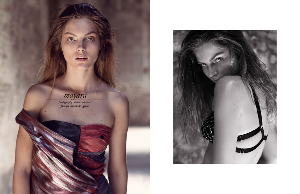 Dress / KATYA LEONOVICH Opposite  Bra / Body Binds