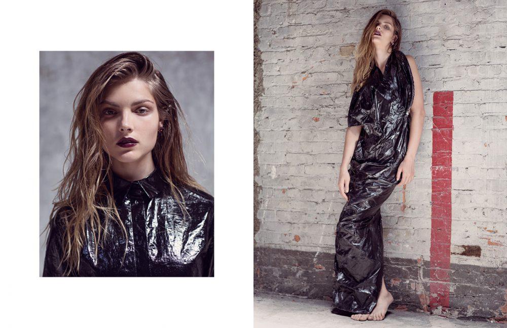 Top / Tamuna Ingorokva Earrings / Chelsea De Luca Opposite Dress / Rinat Brodach