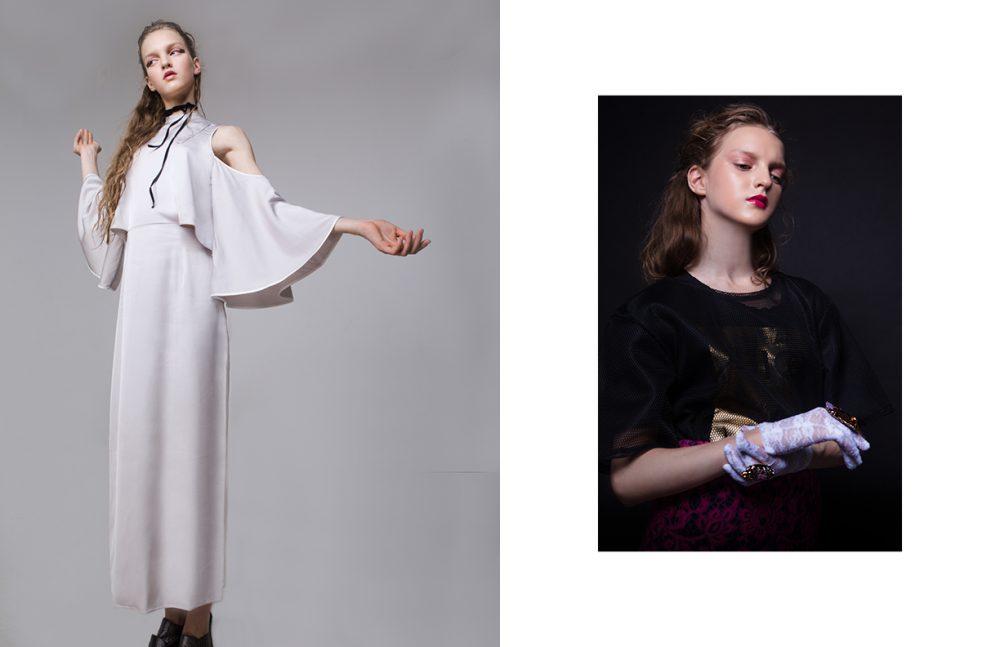 Dress / ZARA Shoes / Baldinini Choker / Magia Di Gamma Opposite T-Shirt & skirt / Juicy Couture  Top / TrendsBrands  Rings / Magia Di Gamma  Gloves / Stylist's Own