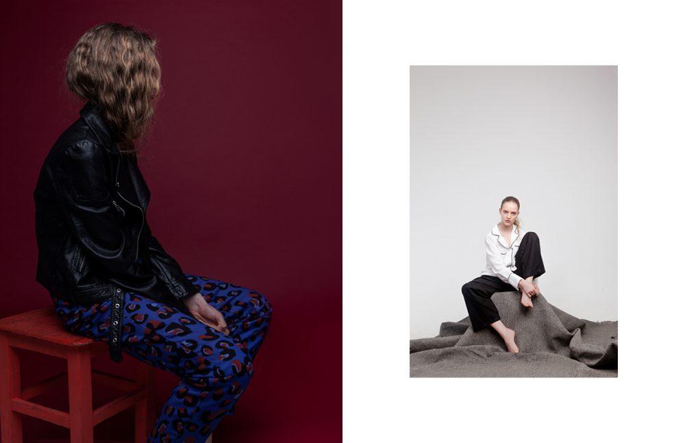 Trousers / Trussardi Jeans  Jacket / Diesel Opposite Pajamas / TrendsBrands  Trousers / Wolford
