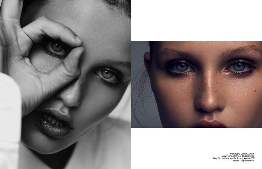 Make Up / RMS Beauty Skin / Uncover Up 22 & Living Luminizer Brows / Eye Polish - Seduce Blush / Lip 2 Cheek - Illusive Eyes / Eye polish Magnetic & Eye polish - solar  Lashes / Defining Mascara