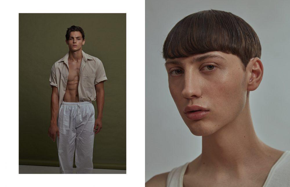 Karic @ Elmer Olsen Models Opposite Mackenzie @ Montage Models, Bravo Tokyo