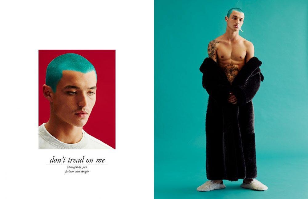 Jumper / Versace Opposite Coat / Dolce & Gabbana  Slippers / Fendi