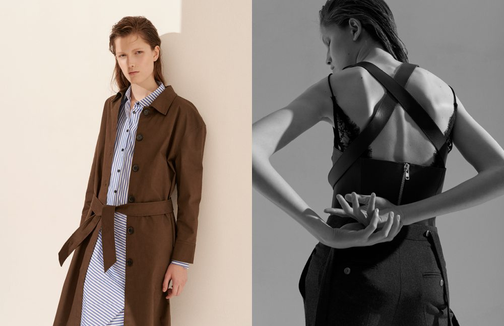 Shirt Dress & coat / Rika by Ulrika Lundgren  Opposite Top / Zana Bayne & Other Stories  Dress / Agent Provocateur  Trousers / Dior