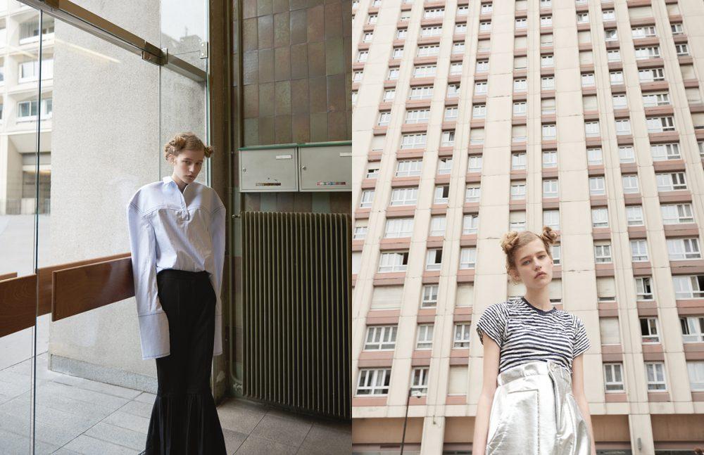 Shirt / Jacquemus  Trousers / Stella McCartney Opposite T-Shirt / MUJI  Trousers / Julien David