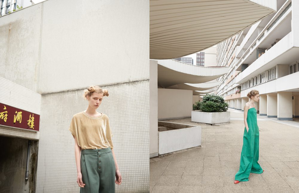 T-Shirt & Trousers / Nehera Opposite Combination / Wanda Nylon