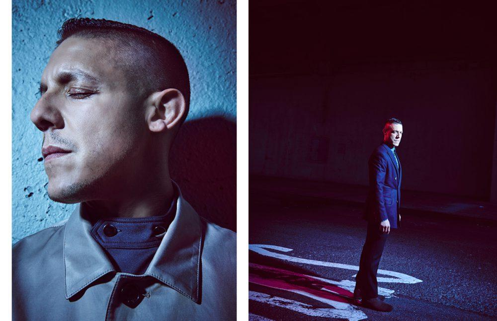 Jacket / Daniel Hechter Top / Woodhouse opposite  Suit / Palmiers du Mal Shirt / Daniel Hechter Boots / Acne Studios