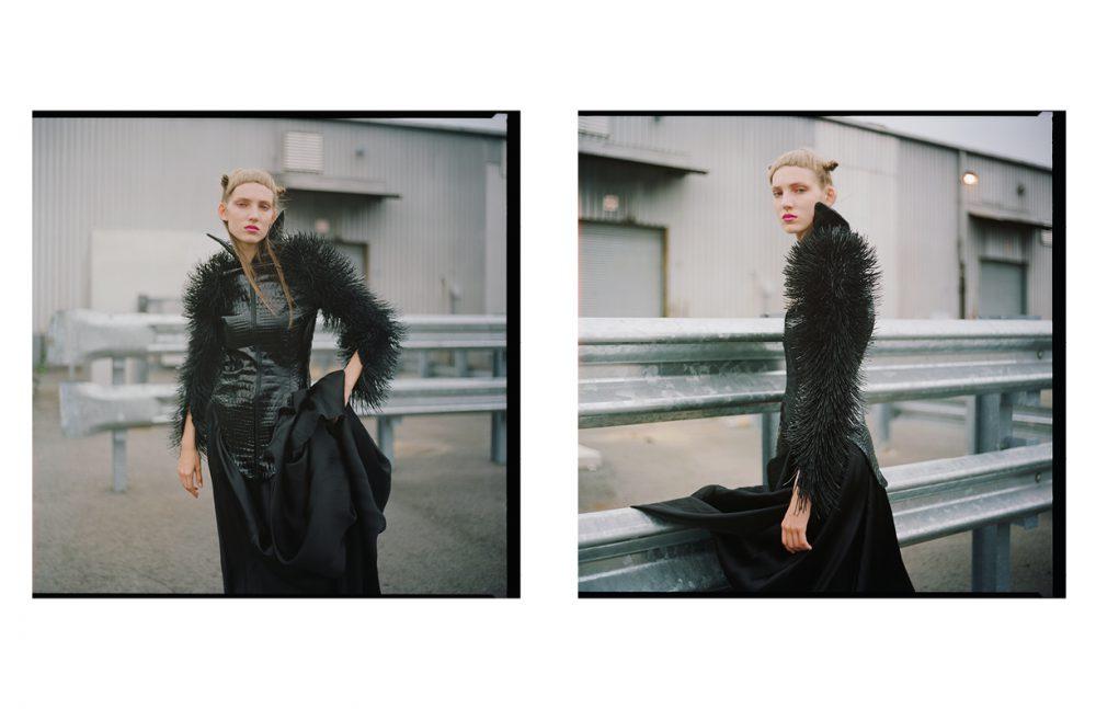 Dress / Vincetta Coat / ALEX ULICHNY