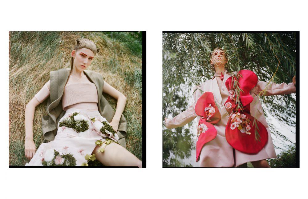 Vest & Top / Vingetta Skirt / Annie Li Opposite Coat / Annie Li Tights / Wolford Hat / WXYZ