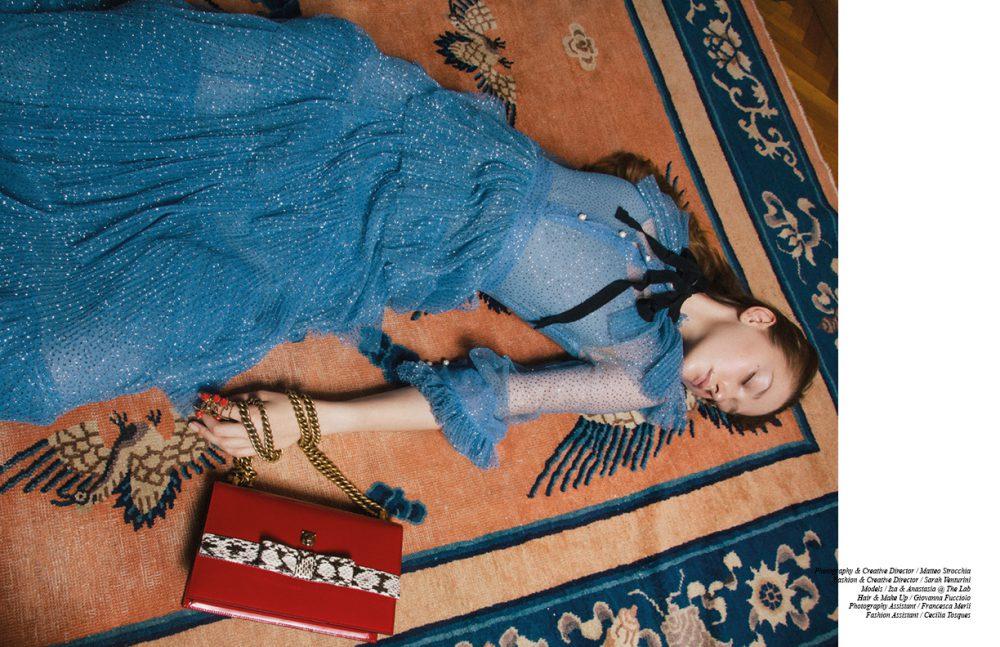 Dress & Bag / Gucci Jewels / Bernard Delettrez