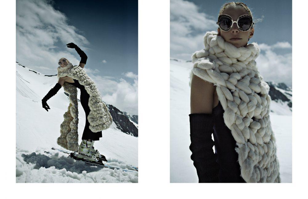 Sunglasses / Pugnale & Nyleve  Cape / Angela Ami Jumpsuit / Hache Gloves / I'm Isola Marras