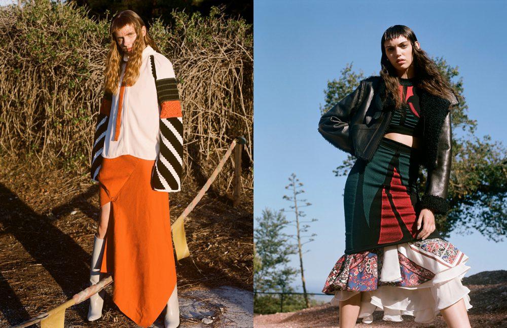Blouse / Sportmax Dress / Bernhard Willhelm Boots / Hermés Opposite Total Look / LOUIS VUITTON