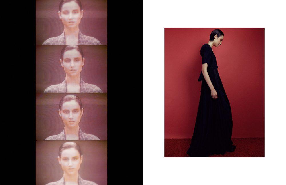 Robe / 1980's Hermès Opposite Dress / 1970's Quorum London by Ossie Clark