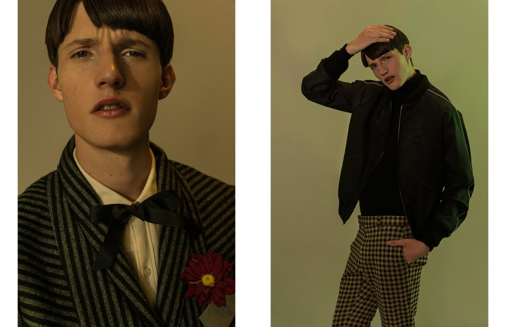 Shirt / Gucci Suit / B.Luxo Opposite  Blouse / Ermenegildo Zegna Jacket & Trousers / Gucci