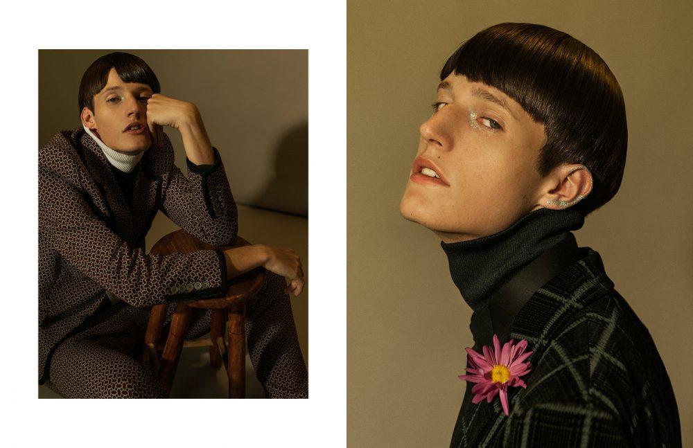 Opposite  Shirt / LOUIS VUITTON Suit / Giorgio Armani