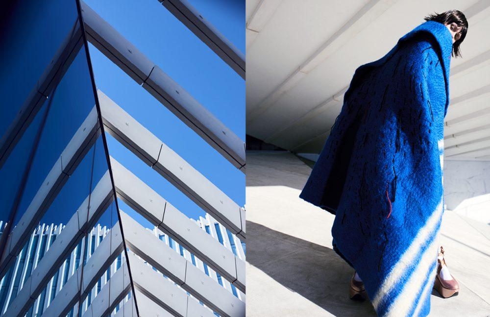 Coat / Alexandra Moura Shoes / Melissa X Vivienne Westwood